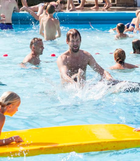 Zwembad Heino langer open op zomerse Hemelvaartsdag