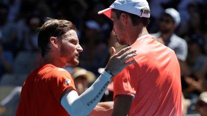 """David Goffin moet koffers pakken, Rus Medvedev te sterk in drie sets: """"Ik had hem niet zó goed verwacht"""""""