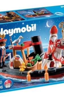 Playmobil verkoopt weer Zwarte Piet-poppetjes
