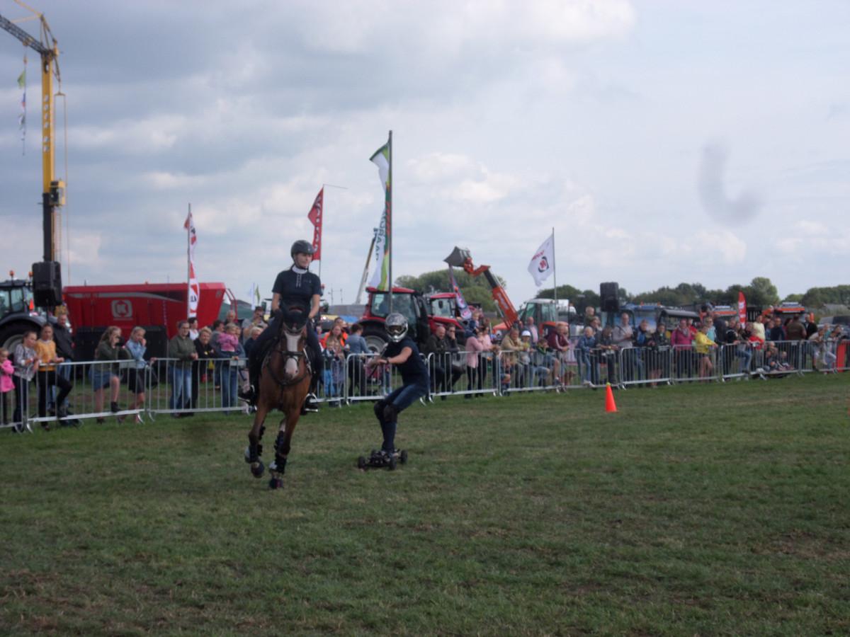 Horsebording voor het eerste op de Streekdagen.
