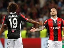 Sneijder bij Nice terug in selectie na enkelblessure