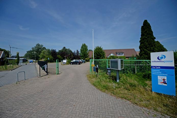 Top-Craft terrein aan de Ravenhorsterweg. Nu is het nog een bedrijventerrein, maar gaat op de schop vanwege komst woonwijk.