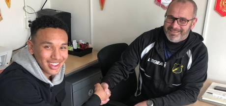 Gylermo Siereveld maakt winnend NAC-debuut achter gesloten deuren