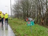 Bijrijder zwaargewond na ongeluk bij knooppunt Galder bij Breda, bestuurder aangehouden