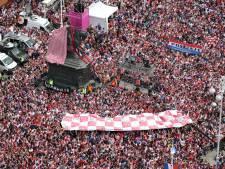 Fotoserie: Groots onthaal voor Kroatische WK-helden in Zagreb