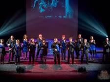 Koor Just Us uit Veldhoven zingt op internationale wedstrijd