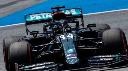 Drie op drie: dominante Hamilton ook de snelste in laatste vrije oefenrit Spielberg