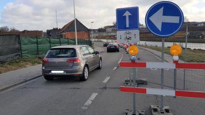 Suikerkaai in de richting van Bevrijdingsplein afgesloten tot oktober door oeverwerken Zuidbrug