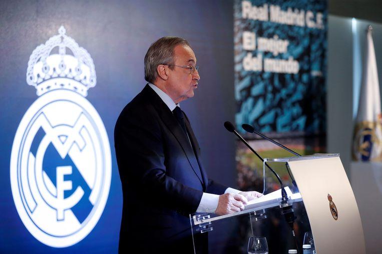 Real Madrid-voorzitter Florentino Pérez.