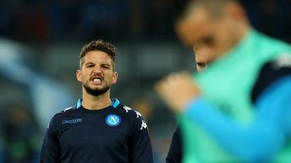 In eigen land heer en meester, in Champions League dreigt uitschakeling: Mertens & Napoli met de rug tegen de muur