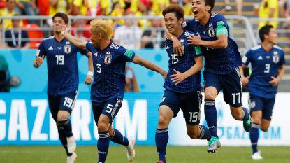 Verrassend Japan pakt de scalp van tien Colombianen