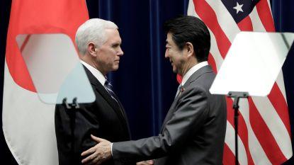 VS en Japan bekrachtigen nauwe samenwerking in crisis rond Noord-Korea