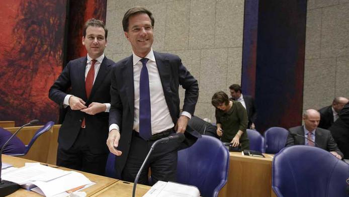 Harde woorden voor premier Mark Rutte vandaag in het debat over de regeringsverklaring