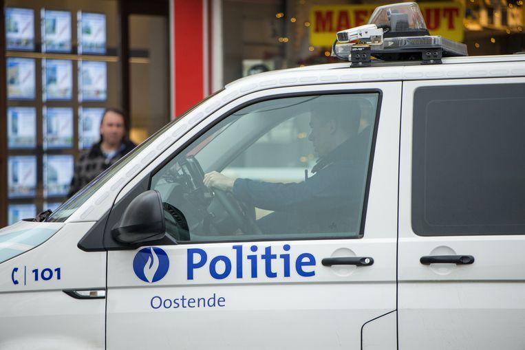 De Oostendse politie is een onderzoek gestart.