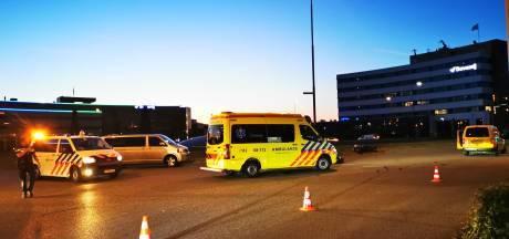 Motorrijder ernstig gewond na aanrijding op Takenhofplein in Nijmegen