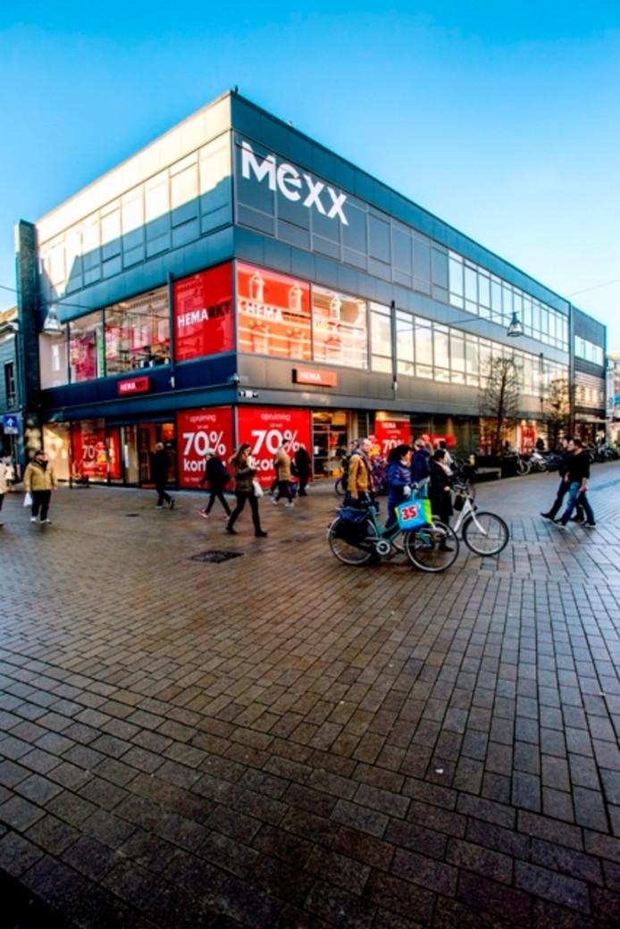 Het voormalige Mexx-pand. Foto Jan van Eijndhoven