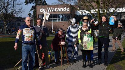 Actiecomité Dieftar 'verkoopt' afval op rommelmarkt