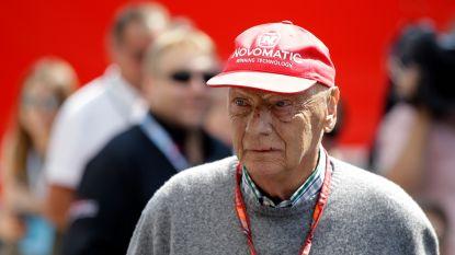 Niki Lauda heeft ziekenhuis verlaten na hevige griepaanval