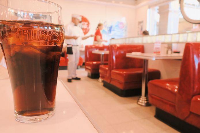 En Californie, les sodas sont généralement servis à volonté.