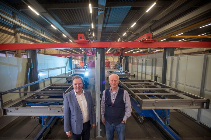 Ad Keeris (links) en Ben van Gool: industrieel de Kempen moet verder groeien