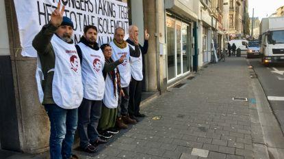 Antwerpse Koerden in hongerstaking tegen gevangenschap PKK-leider