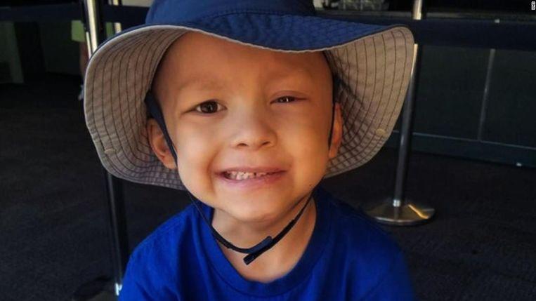 De 5-jarige Garrett Michael Matthias uit de Amerikaanste staat Iowa.