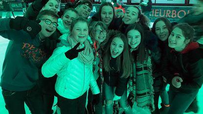 Leerlingen Middenschool breken het ijs