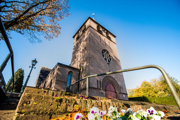 De Heilige Monulphus en Gondulphus-kerk in Knegsel.
