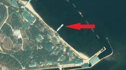 Verblijft Noord-Koreaanse leider Kim Jong-un in zijn luxueuze kustvilla in Wonsan? Satellietbeelden lijken het te bevestigen