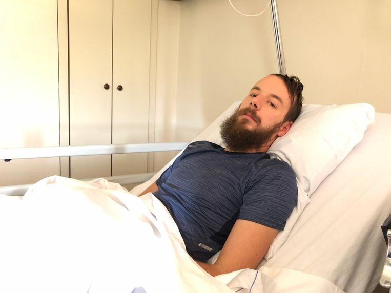 Niels Van Espen is op zoek naar het koppel dat hem hielp toen hij een hersenbloeding kreeg.