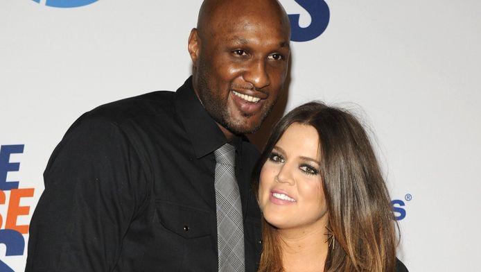 Lamar Odom en Khloe Kardashian in 2012.