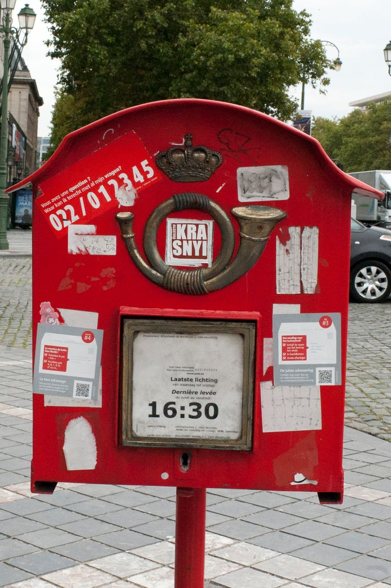 Postbus Brussel