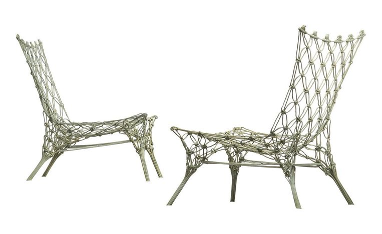 Knotted chair Beeld Marcel Wanders
