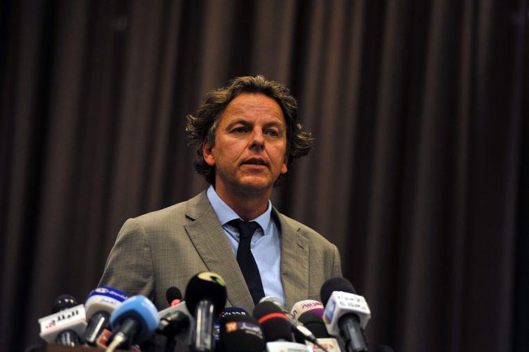 De vermoedelijke opvolger van Timmermans als minister van Buitenlandse Zaken, Bert Koenders. Beeld epa