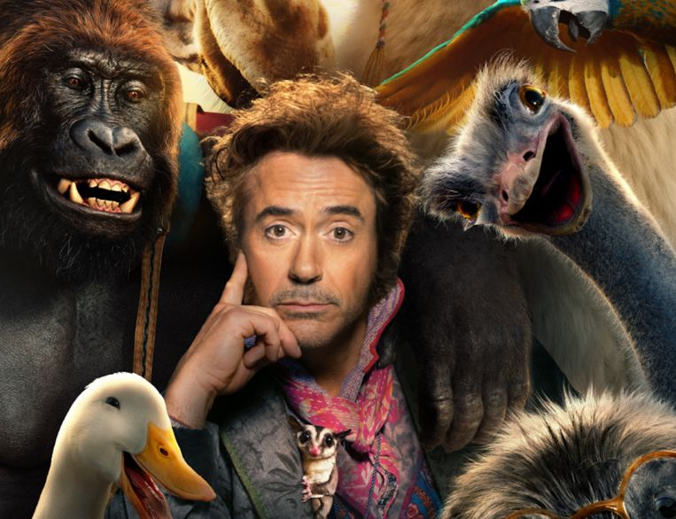 Robert Downey Jr in 'Dolittle'.