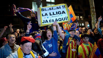Meesterlijke Messi gidst Barça met hattrick naar 25ste landstitel, Vermaelen blijft op de bank