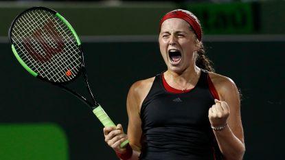 Jelena Ostapenko vervoegt Sloane Stephens in finale WTA Miami - Zverev en Carreno Busta bij laatste vier