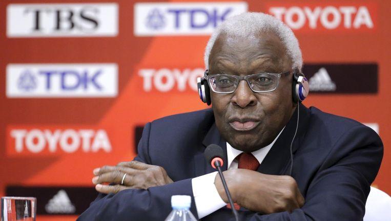 Lamine Diack Beeld reuters