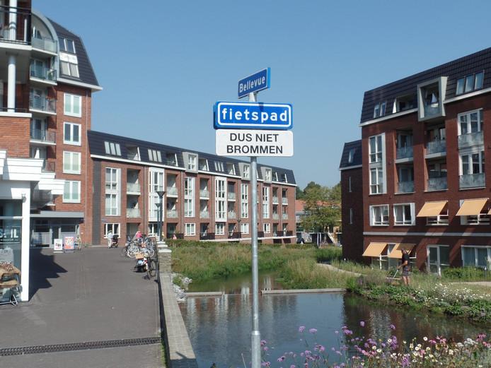 Door Bellevue in Groesbeek is een fietspad aangelegd.