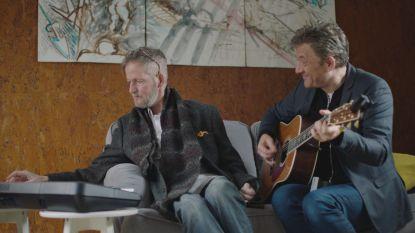 Luc covert lied voor zijn eigen begrafenis in 'Merci voor de muziek'