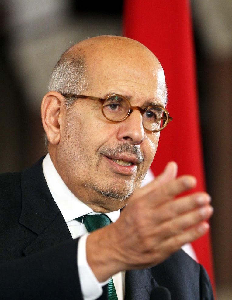 Mohamed ElBaradei. Beeld null