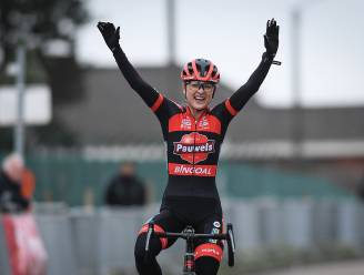 Denise Betsema rondt lange solo af in Leuven, ook Thibau Nys wint