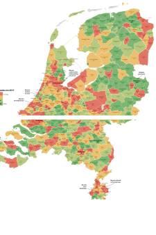 Alle misdaadcijfers in kaart