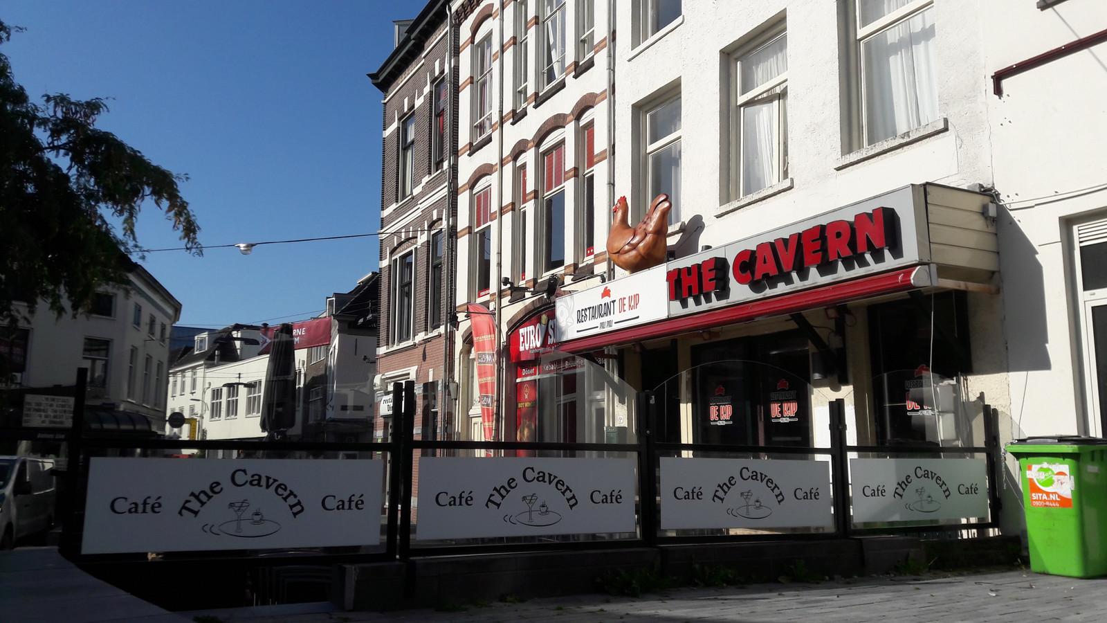 Café The Cavern aan de Arnhemse Korenmarkt.