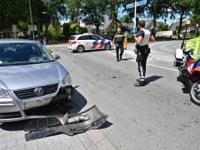 Motorrijder onderuit gegaan door losliggend grind in Bavel