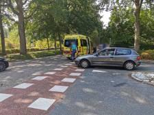 Automobilist ziet wielrenner over het hoofd in Wageningen