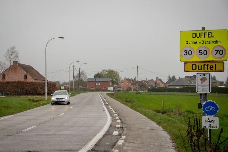 Het dodelijk ongeval gebeurde op Beukheuvel, op de grens van Duffel en Koningshooikt