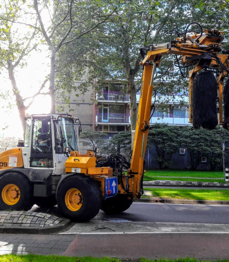 Primeur voor Tilburg: de mobiele 'wasstraat'