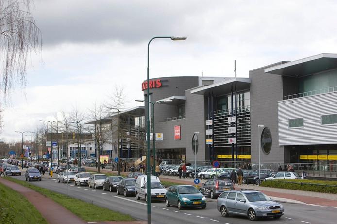 De woonboulevard van Eijerkamp in Veenendaal. Archieffoto: Herman Stöver