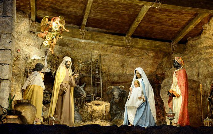Illustratiebeeld: Kerststal in Rome